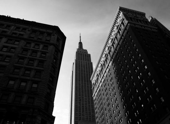 TAGLI DI LUCE A NEW YORK.